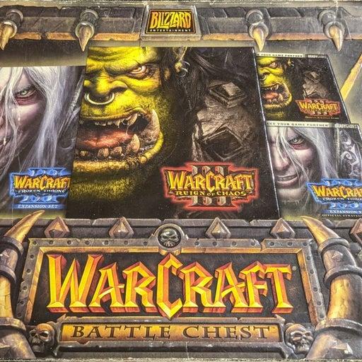 Warcraft 3 PC Game Discs