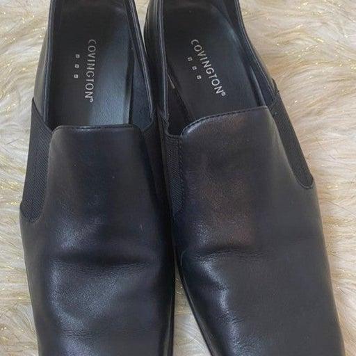 Black Slip On Women's Shoes 8