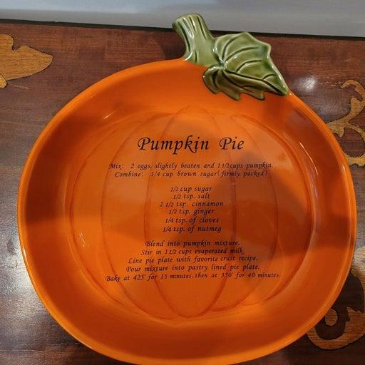 Croft & Barrow Pumpkin Pie Baking Dish