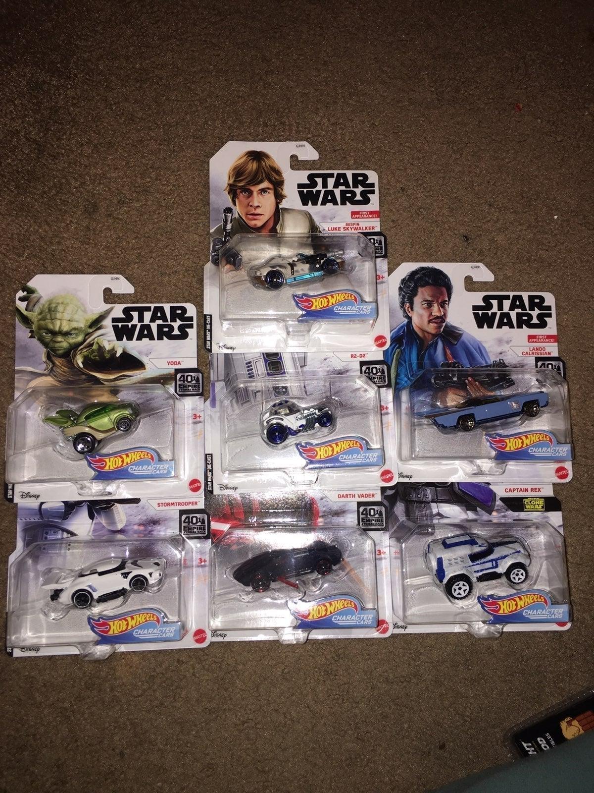 Star Wars Hot Wheels lot (8)