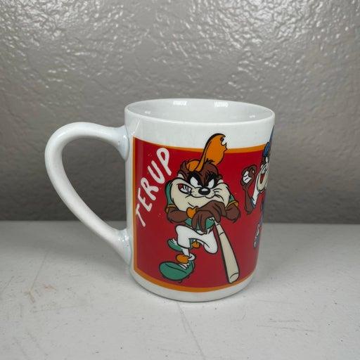 Vintage Looney Tunes Taz Baseball Mug