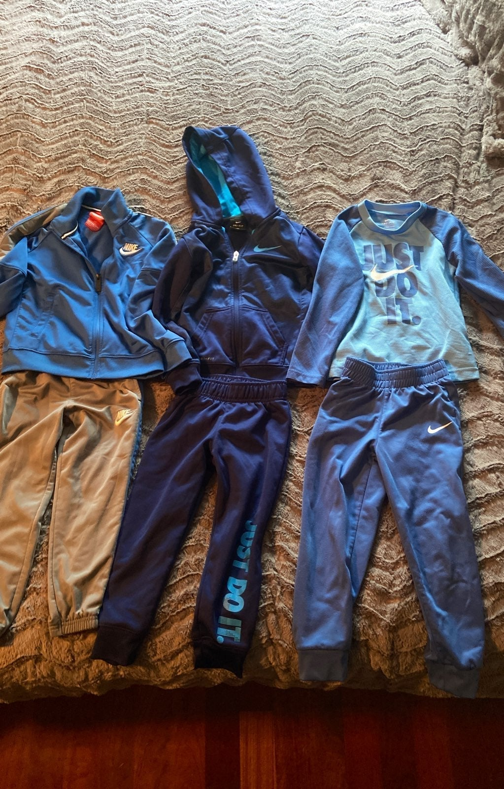 Lot of 3 Nike Dri-Fit Outfits 4T