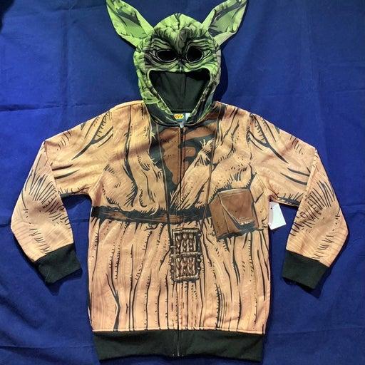Star Wars Yoda Sweatshirt Jacket S 6/7