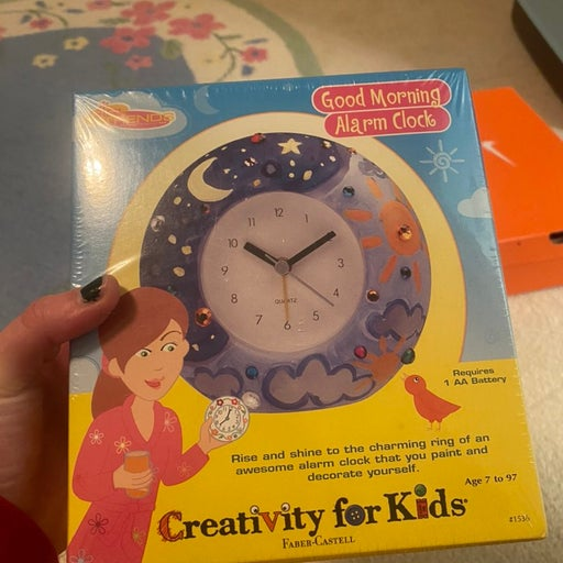 Alarm clock craft set
