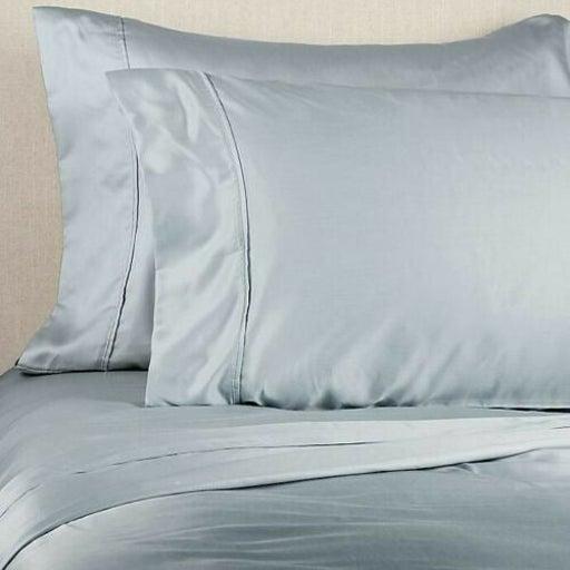 Brookstone 500 TC Queen Sheet Set Blue