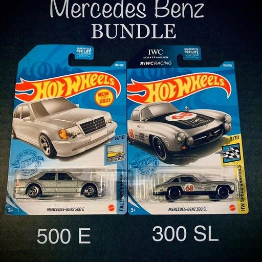 Hot Wheels Mercedes Benz Lot