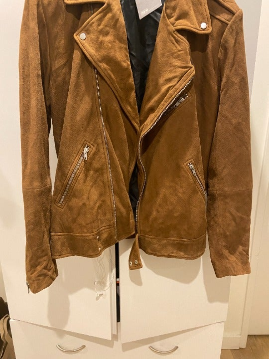 asos suede jacket brand new m
