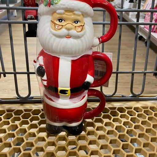 Mr.Christmas Santa Stacker Mugs
