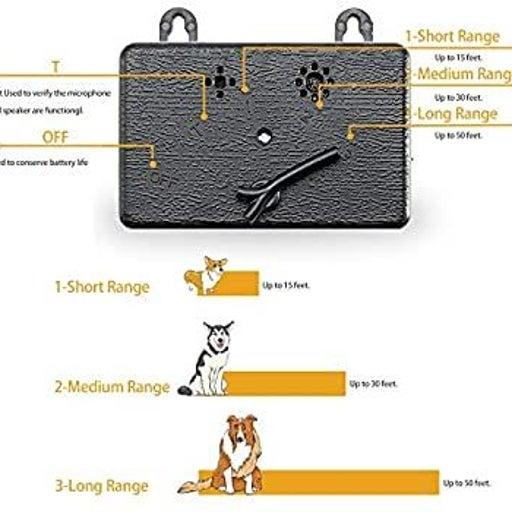 Ultrasonic Dog Barking Deterrent Device