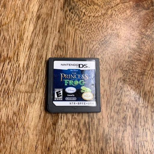 Disney The Princess and the Frog on Nintendo DS