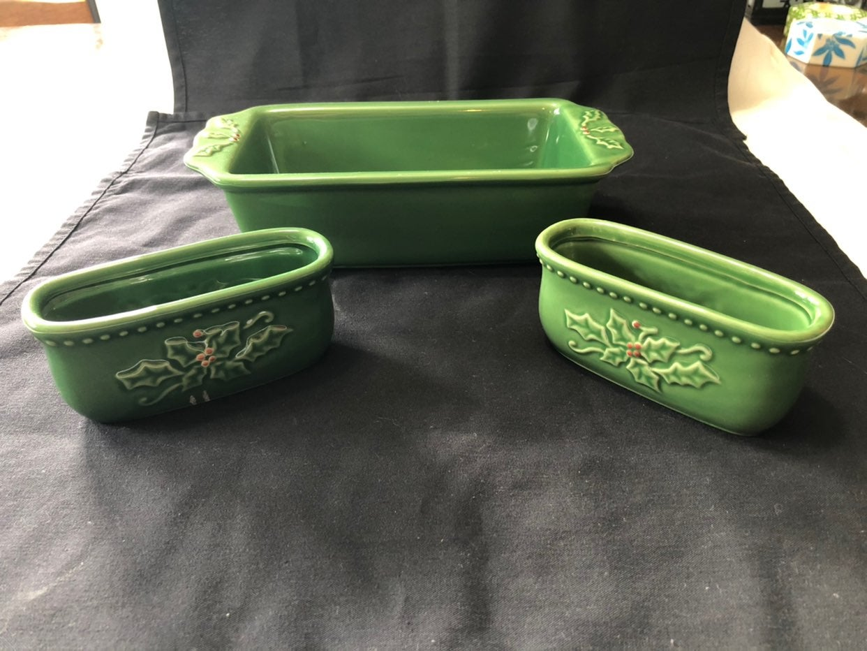 Holiday Serving Pieces Ceramic