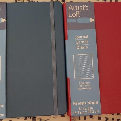 2 Artist's Loft Journals Dot Grid
