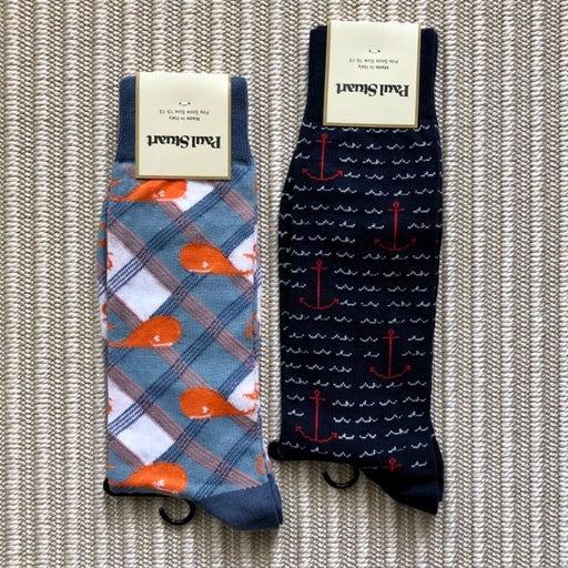 Mens Crew Socks - Nautical Bundle