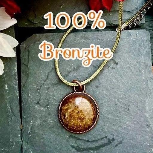 Handmade Natural Bronzite Discernment