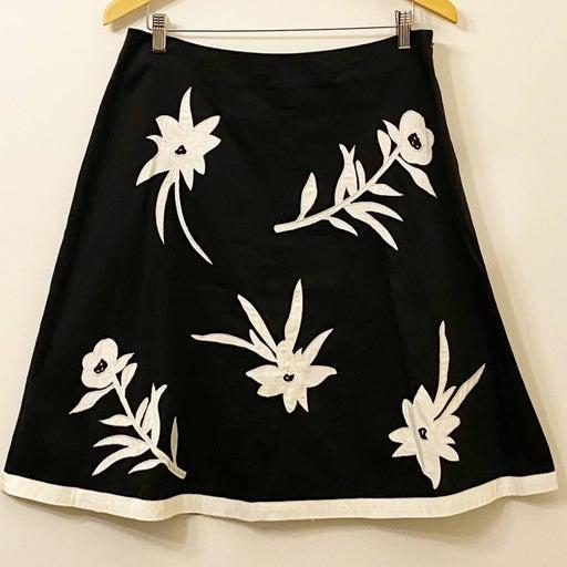 Covington Appliqué Embroidered Skirt