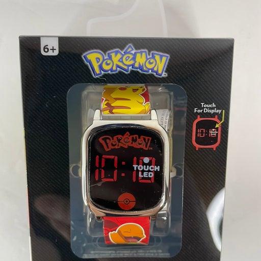 Pokemon touch screan led watch