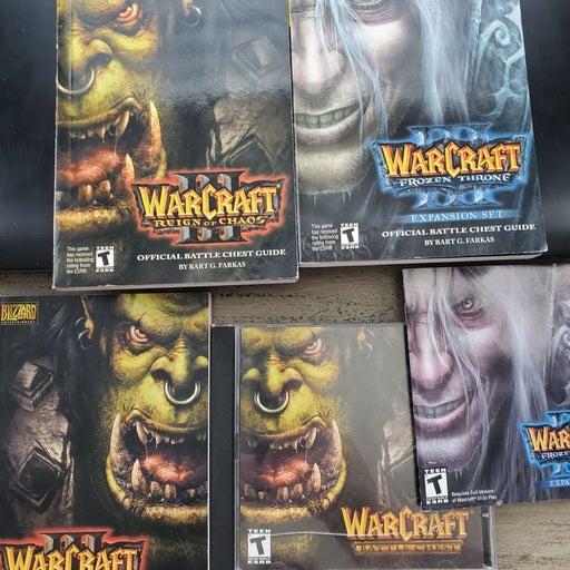 Warcraft 3 PC game