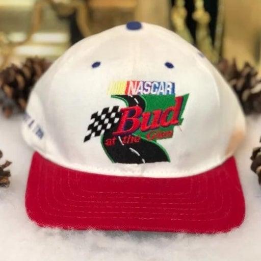Vintage 1998 NASCAR Budweiser Glen Watkins Snapback Hat