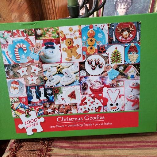 1000 PC Quality Puzzle,Christmas Goodies
