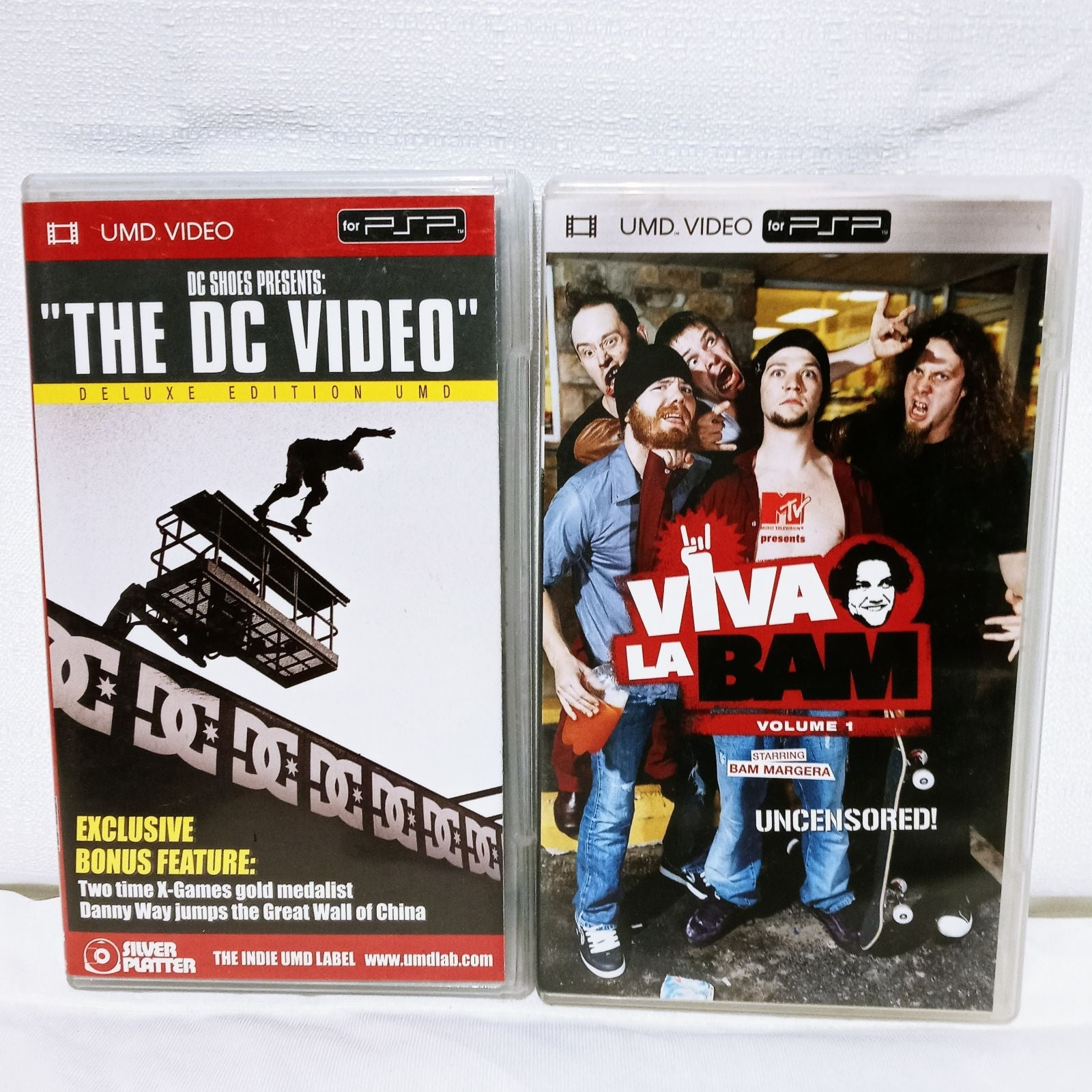 PSP VIDEO THE DC VIDEO & VIVA LA BAM