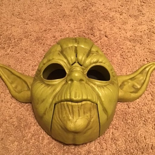 Talking Yoda Mask