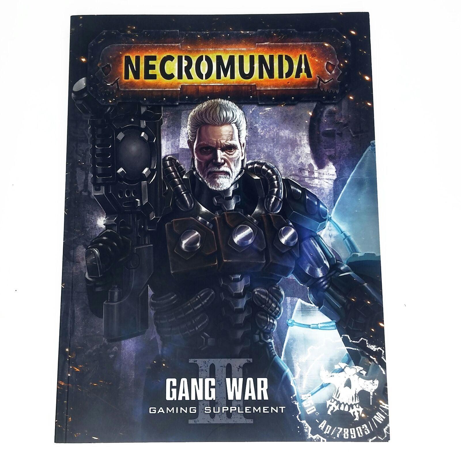 Necromunda Gang War 3 Gaming Supplement