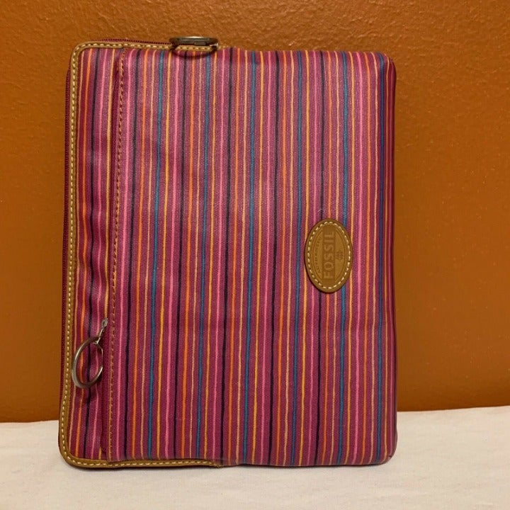 FOSSIL IPAD TABLET CASE STRIPED SLEEVE 9