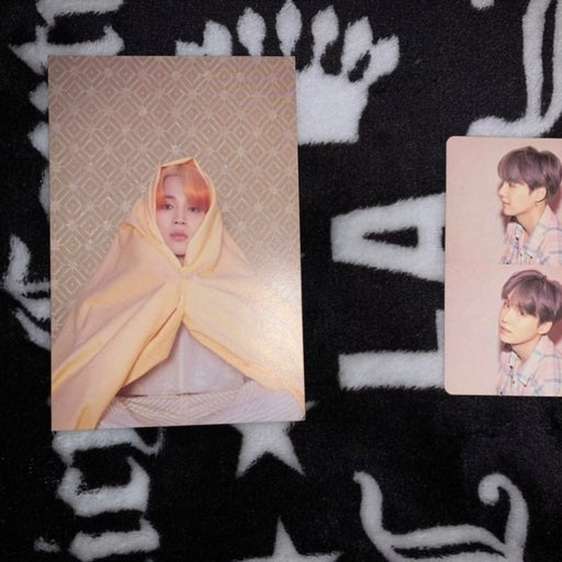 Suga photo card & Jimin postcard