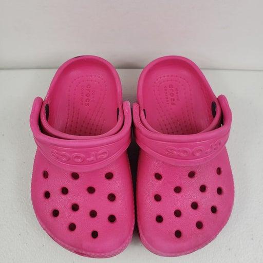 Crocs baby girls iconic sz c6