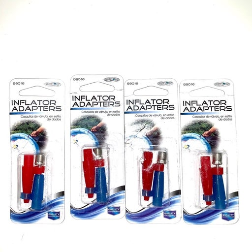 4-Packs Inflator Adapters for MOST Pumps
