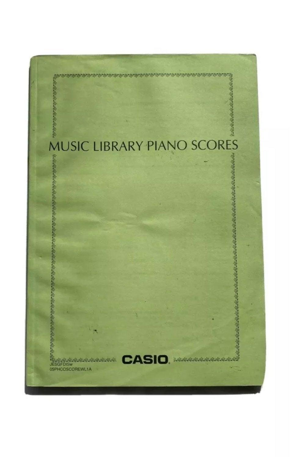 Casio Music Library Piano Scores