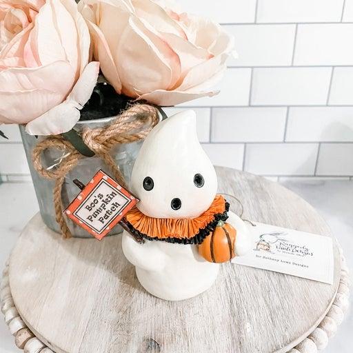 Bethany Lowe Boo Pumpkin Patch Ghostie