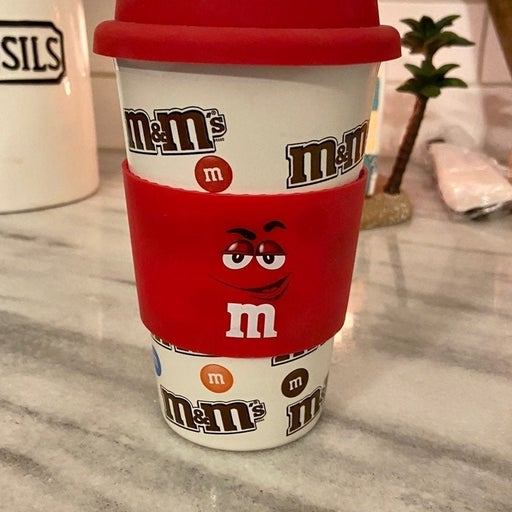 M&M cermic tumbler