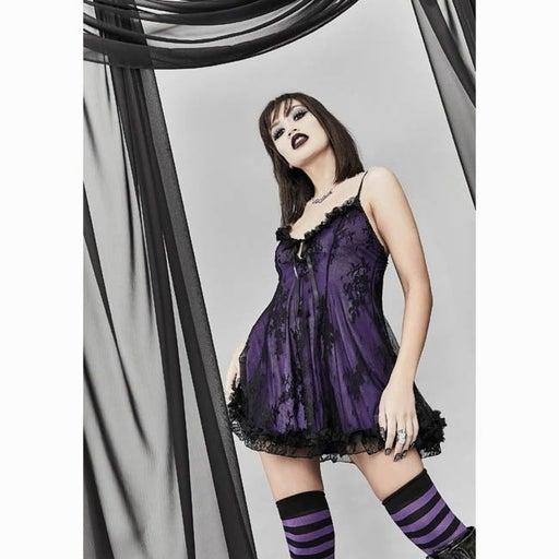 Amethyst widow dolls kill M babydoll dress nwt