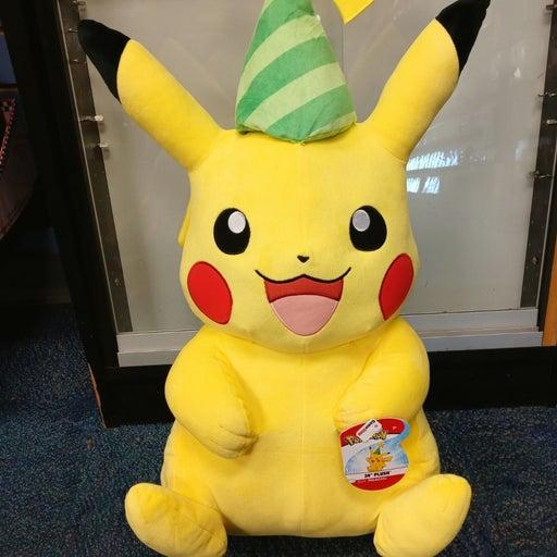 Pokemon stuffed animals...