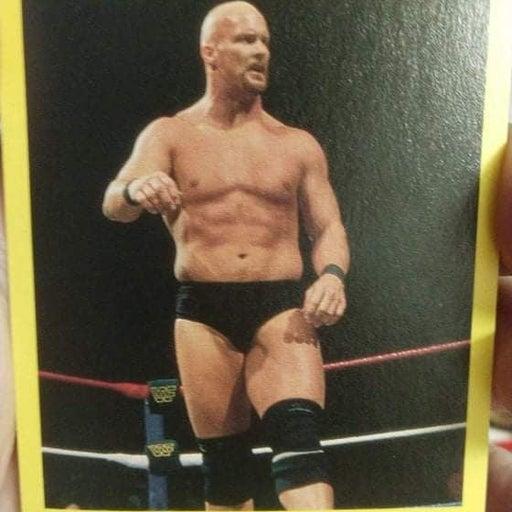 STEVE AUSTIN 97 WWF CARDINAL ROOKIE CARD