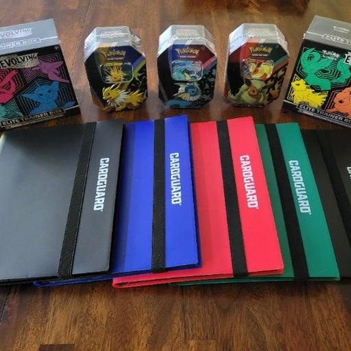 Pokemon Cards - Evolving Skies Binder w/ Sealed ETB or Eevee Tin
