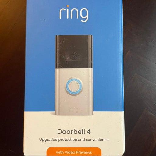 Ring Video Doorbell 4 New