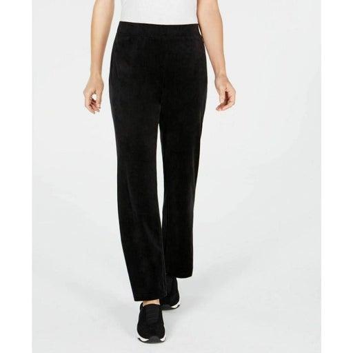 Karen Scott Women's Velour Pull-On Pants