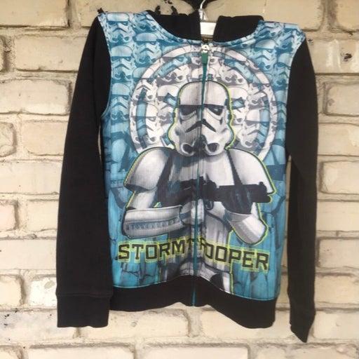 Star wars stormtrooper kids hoodie