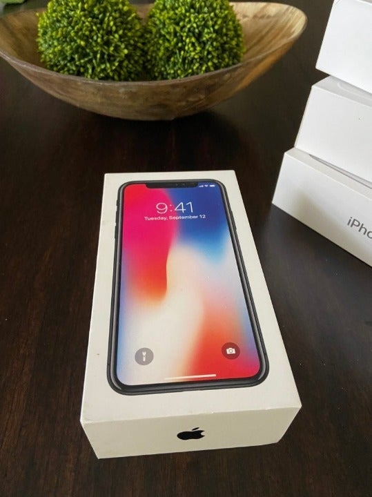 Replacement Empty Box iPhone X 256GB