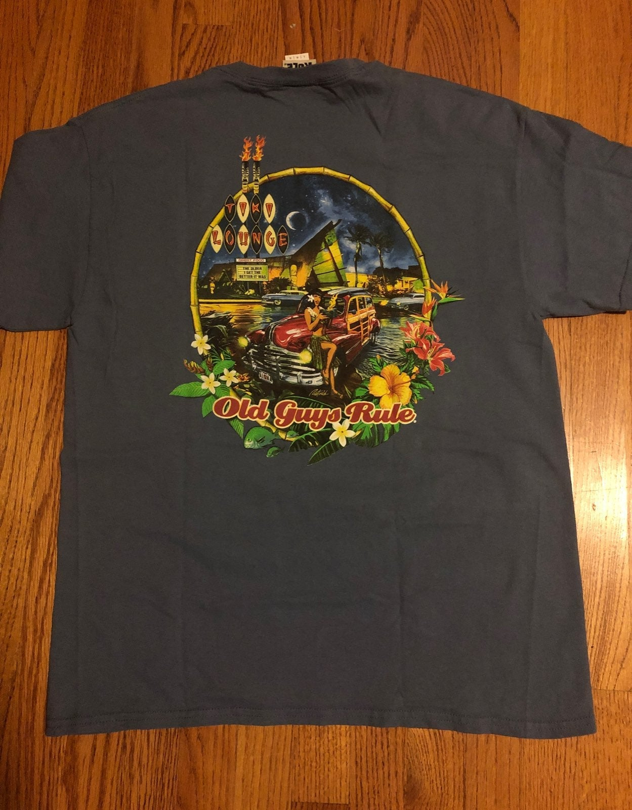 Old Guys Rule Large T-Shirt