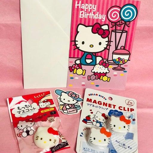 HELLO KITTY Happy birthday lot #1