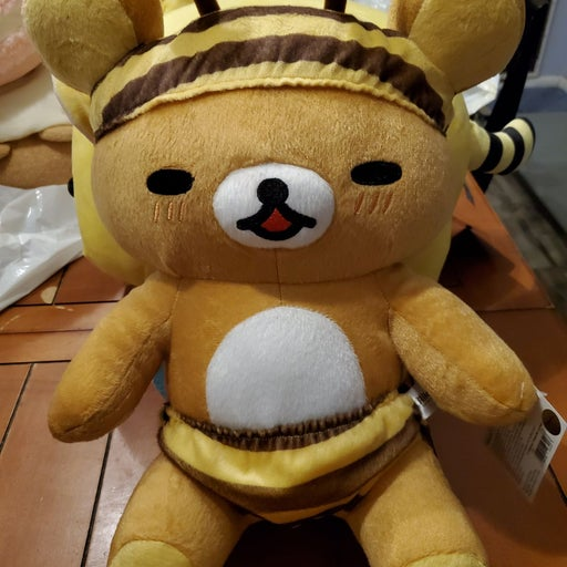 Rilakkuma Honey Bumblebee Plush 14in