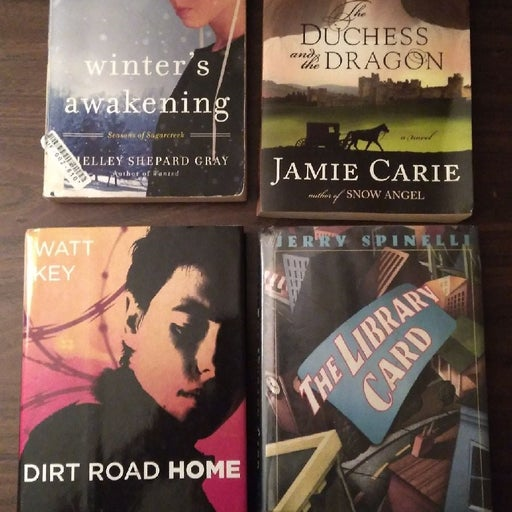 Four novels Romance