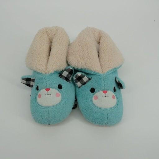 Cuddl Duds Plush Slippers Girls 13-1