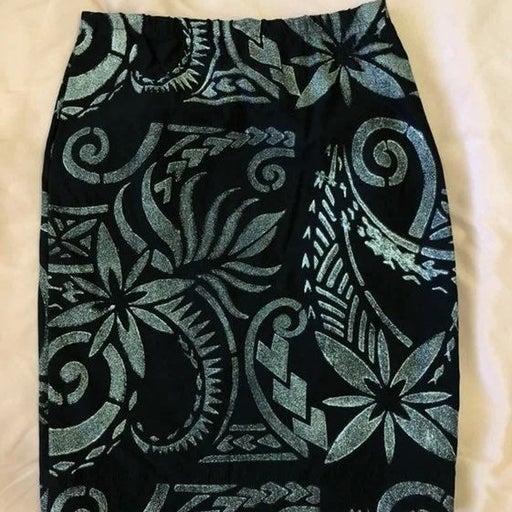Handpainted skirt
