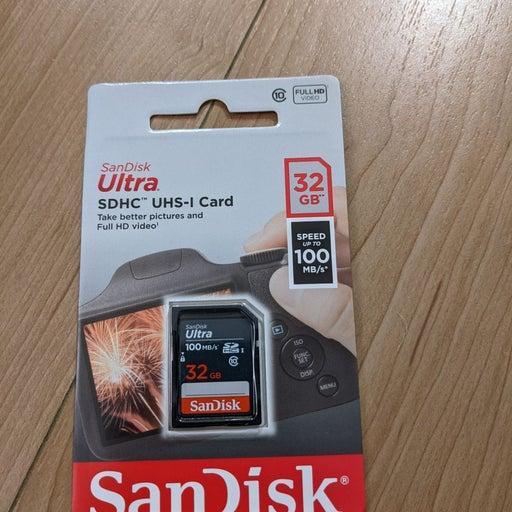 SanDisk Ultra 32gb SD card
