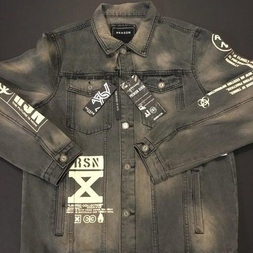 Reason Men's Denim Jacket Limited Collec