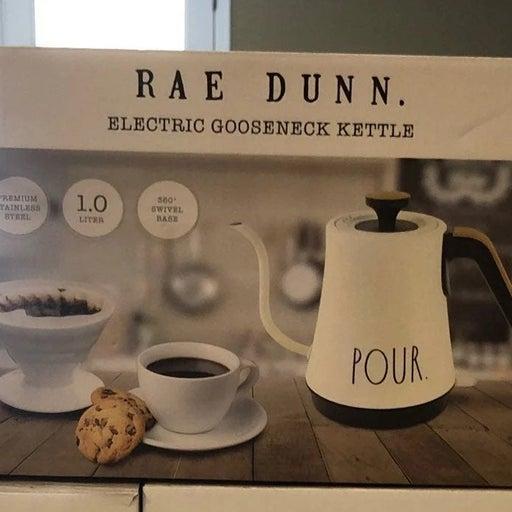 Rae Dunn Gooseneck Kettle